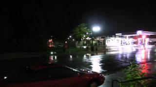 Strange Trumpet Sounds Coming From Sky Happening During Rain Storm 2016 PART 1