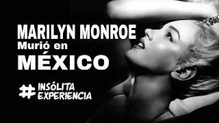 """EXPERIENCIA PARANORMAL I ¿Murió """"Marilyn Monroe"""" en México? Información impactante..."""