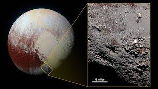 Pluto could be huge dirty snowball with life inside underground ocean