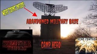 """ABANDONED AND HAUNTED """"CAMP HERO"""" EVP'S!!"""