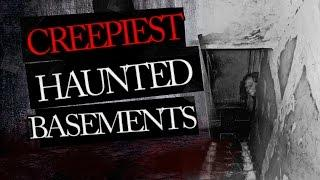 5 Creepy Basements - Real Ghost Caught on Tape