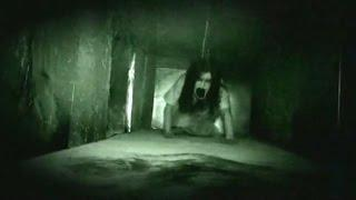 Terrific Ghost Encounter From A Haunted Building   Scary Videos 2016    Real Ghost Caught On Camera