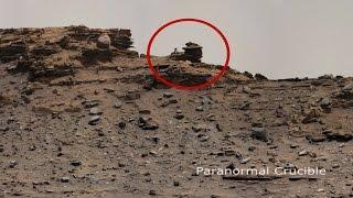 Mysterious Alien Diorama Found On Mars