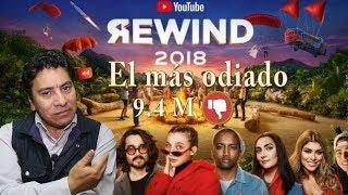 Youtube Rewind 2018 el video más odiado de Youtube