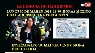 LA CIENCIA DE LOS SISMOS| INVITADA CINDY MORA DESDE CHILE