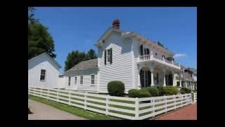James Whitcomb Riley - Childhood Home Tour