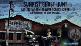 Old Sunkist Factory-Ghost Hunt