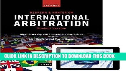 [PDF] Redfern and Hunter on International Arbitration (Paperback and eBook) Full Colection