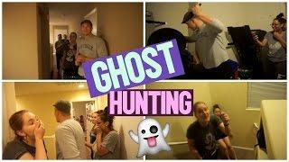 GHOST HUNTING IN OUR PARANORMAL HAUNTED HOUSE.