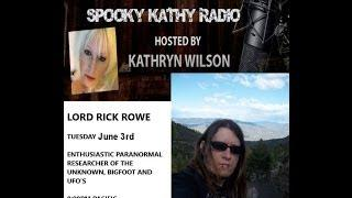 Spooky Kathy Radio - LIVE, Exciting & Intense Paranormal Blotter With Special Guest Lord Rick Of PGS
