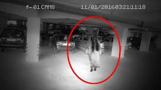 Ghost Activity Caught On CCTV Camera From Underground Parking Area!!