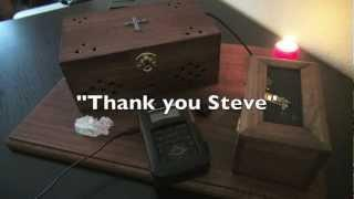 "Spirit Box and EVP Sessions - ""Can You Give Me A Hand""  - my best ever session!"