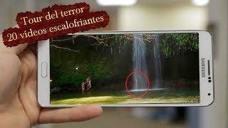 Los 20 vídeos mas escalofriantes captados en cámara / Tour del terror.