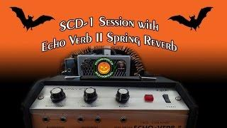 SCD-1 Spirit Box Session with my Echo Verb Spring Reverb Unit on 6/20/16