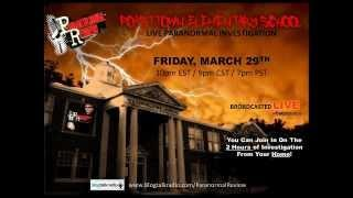 Paranormal Review LIVE from Poasttown Elementary School