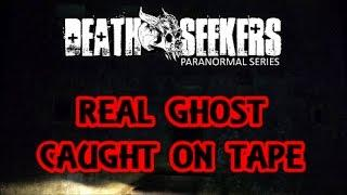 DEATH SEEKERS- REAL GHOST caught on tape at HAUNTED airfield