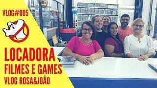 LOCADORA Vlog#005 Rosa&João - Caça Fantasmas Brasil