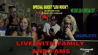 LIVE EVP'S WITH FAMILY & FANS...AMAZING EVP'S!!
