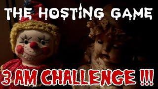 THE REAL HOSTING GAME 3 AM CHALLENGE CREEPY PASTA RITUAL (DONT LOOK BACK) ALL ALONE