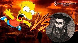 Los Simpsons vs. Nostradamus ¿Quién Atinó a más Profecías?