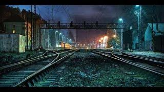 Ghostly Figure Passing Caught on Camera From Haunted Railway Station, Scary Video Footage