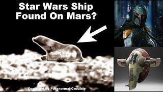 Star Wars Ship Found On Mars?
