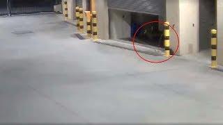 La policía australiana comparte un video que muestra fenómenos paranormales en una comisaria