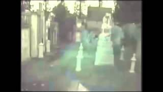 Ghost Sighting in Haunted Cemetery