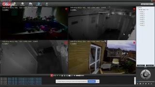 Steves-Haunted-Home: Live stream DVR/CCTV Channel 4-8