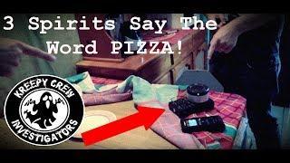 Costa Rican Spirits Love PIZZA!