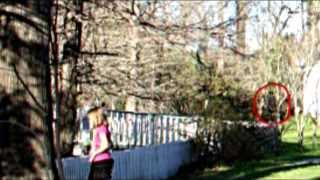 Floating  Ghost At The Myrtles Plantation Caught In Montion