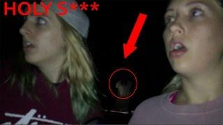 HAUNTED CEMETERY GHOSTS!?