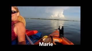 Kayaking at pine island watching sunset...The G Team paranormal family