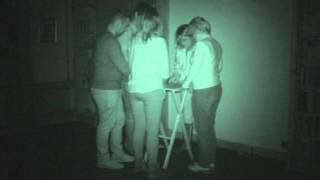 Marwell Hall ghost hunt - 24th October 2015 - Table Tilting / Ouija