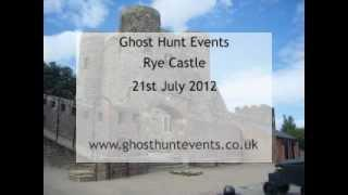 Rye Castle real ghost voice EVP from Mediums question
