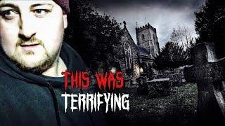 (GHOST ACTIVITY) HAUNTED Graveyard at Night!