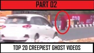 TOP 20 Creepiest Ghost Sightings On Camera! Scariest YouTube Ghost videos PART 02