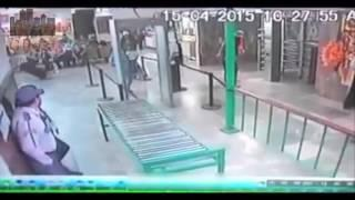 scary video women takes ghost baby caught on cctv    ghost hunting