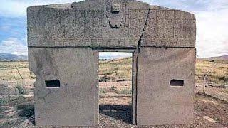 Tiwanaku  Gate of the GOD