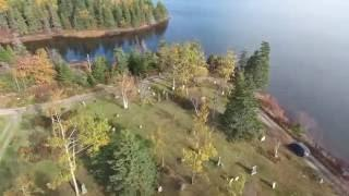 Haunts From The Cape - Black Brook Cemetery - PHANTOM 4K Drone Footage