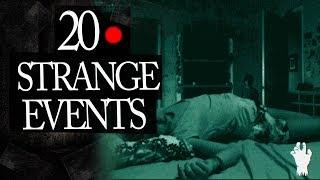 20 Mysterious and Strange Events Caught on Tape Mix