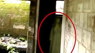 Real Ghost Accidentally Caught on Camera From an Abandoned Building, Scary Videos 2018
