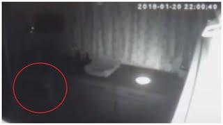 Amazing Spirit Capture | Red Anomaly Appears On CCTV System During Private Paranormal Investigation