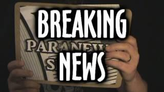 *BREAKING NEWS* New Paranormal News Show  VPNS Ep. 1 (Pilot)