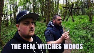 HAUNTED WITCHES WOODS EVIL SATANIC FOREST