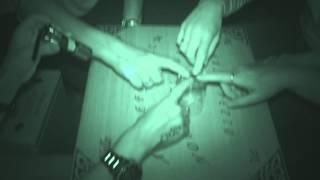 Chelmsford Museum ghost hunt - 27th June 2015 - Ouija board