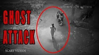 OMG! Ghost Following Girl Caught on CCTV Camera | Scary Videos | REAL GHOST HAUNTING VIDEO