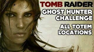 Tomb Raider - Ghost Hunter Challenge (All Totem Locations - Coastal Forest)