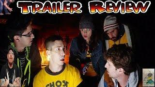 GHOST TEAM (2016) Paranormal Comedy Trailer review - Ghost hunters are f@cking morons!!