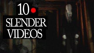 10 Mysterious Slenderman Videos Caught on Camera